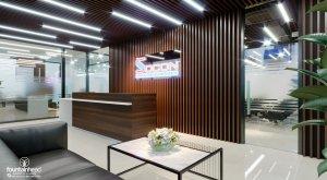 giá thiết kế nội thất văn phòng