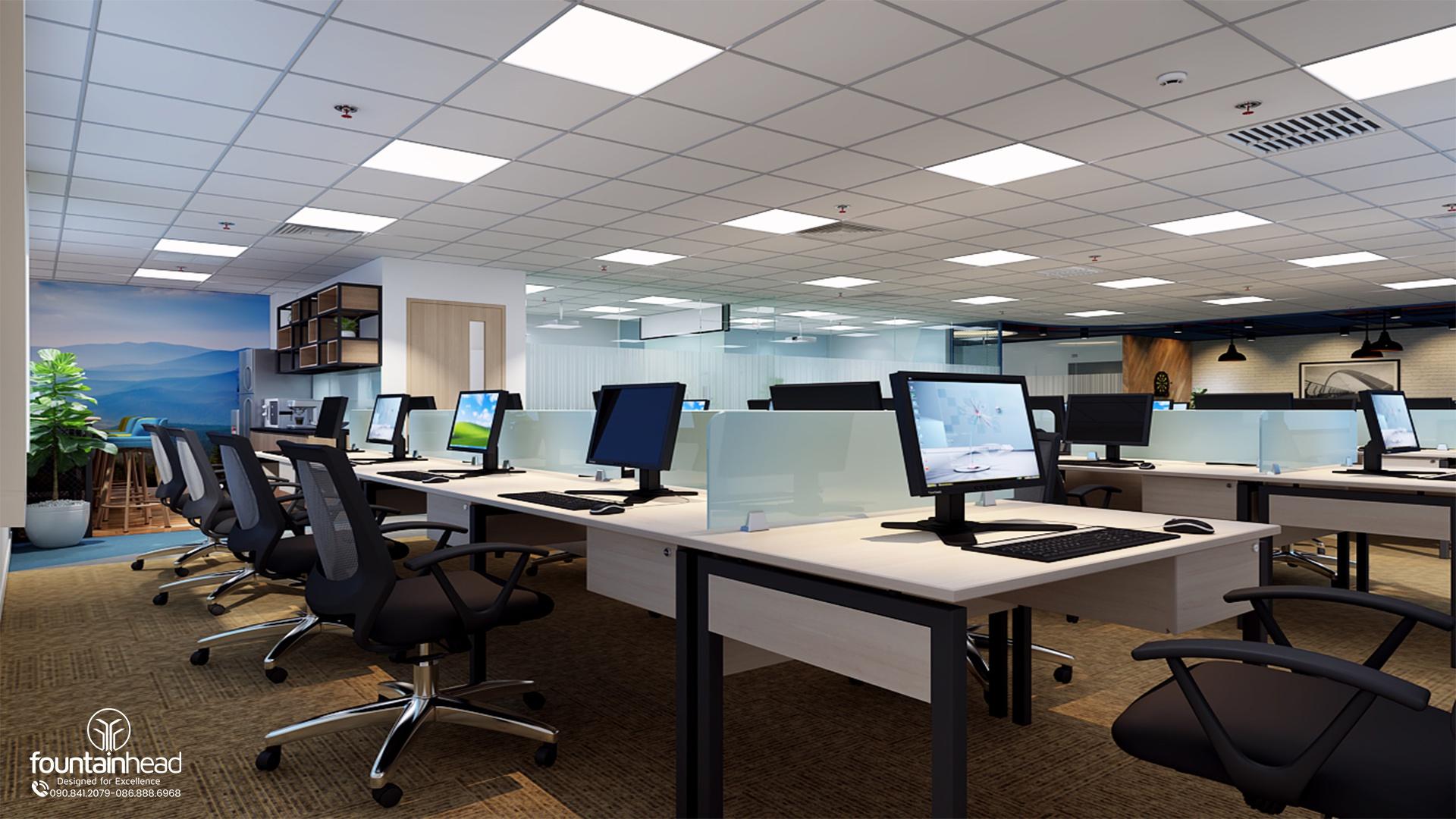 đơn vị thiết kế nội thất văn phòng cao cấp